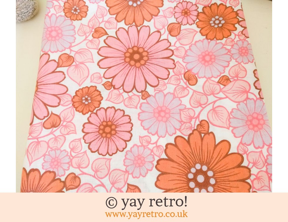Stunning Pink Vintage Single Sheet - As new in Packet! (£27.50)