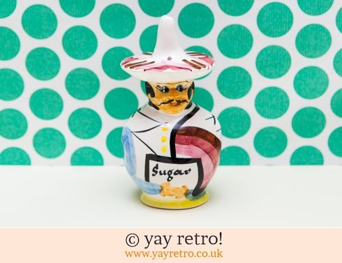 159: Toni Raymond Mexican Guy Sugar Shaker (£11.00)