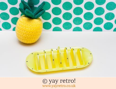 297: 1950s Polka Dot Toast Rack (£14.75)