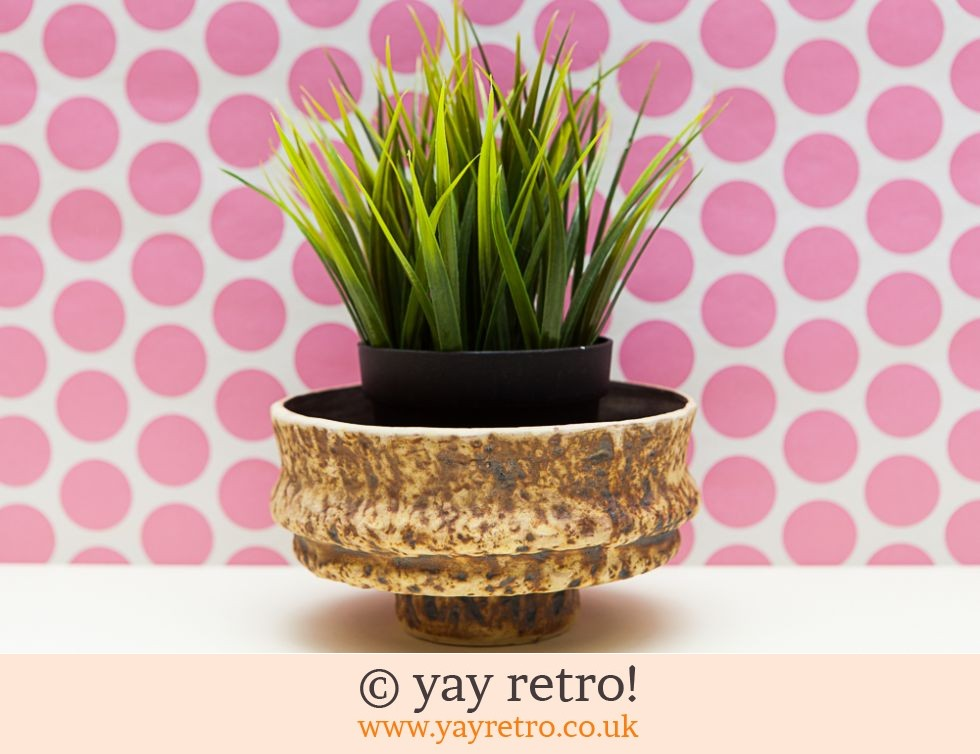 Fat Lava Ornamental Dish / Plant Pot (£7.95)
