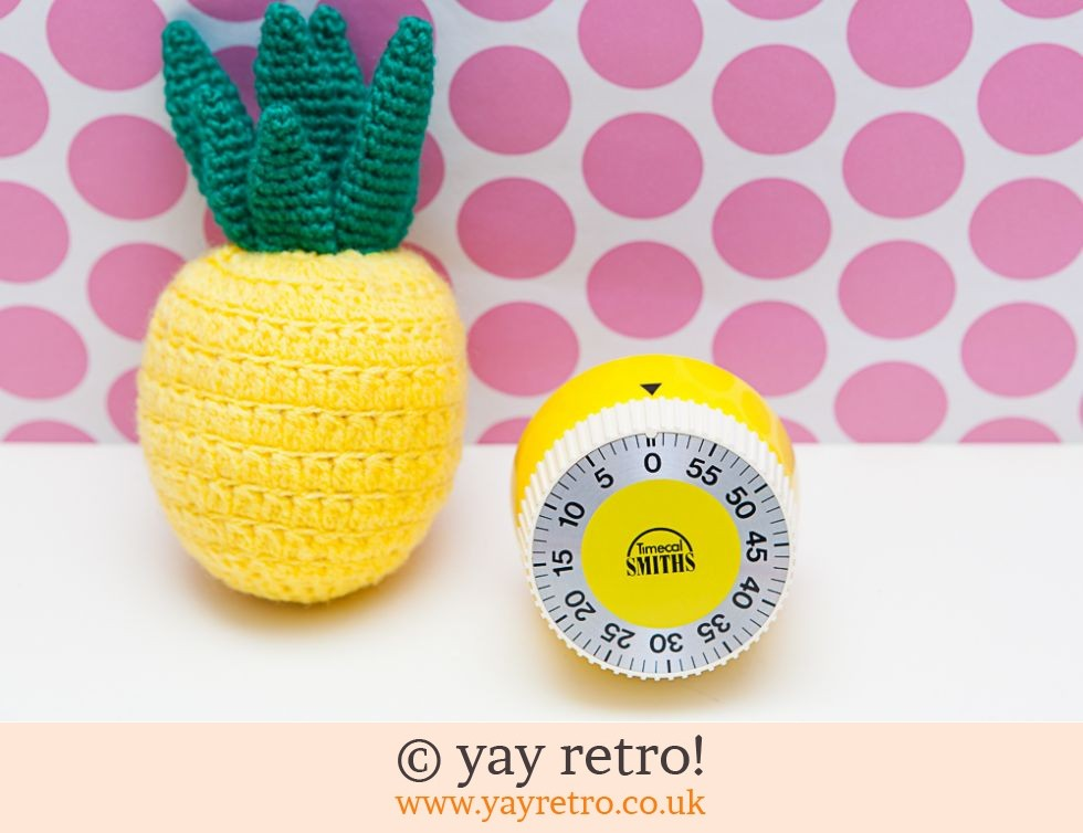 Smiths: Stunning Yellow Smiths Vintage Timer (£22.50)