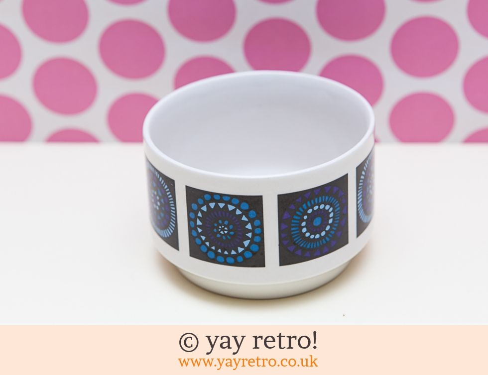 Midwinter: 1960/70s Midwinter Sugar Bowl Blue (£4.00)