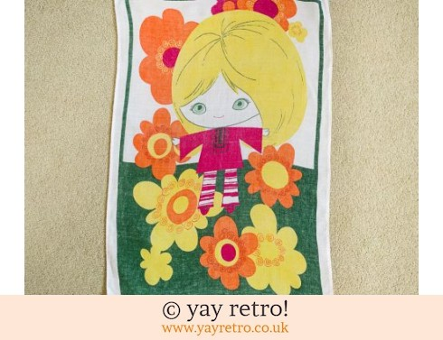 368: Brooke Bond Tea Towel Daisy Girl (£11.00)