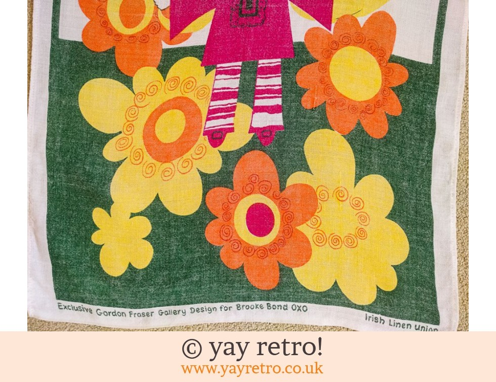 Brooke Bond Tea Towel Daisy Girl (£8.95)
