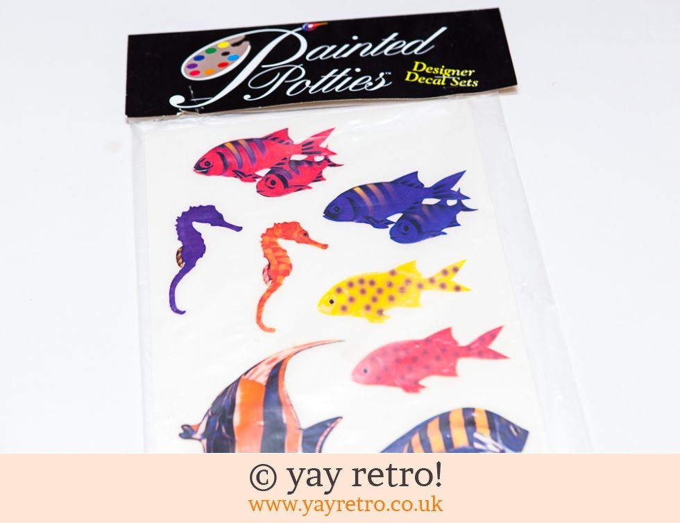 Fish Sticker Decals for Tiles (£4.00)