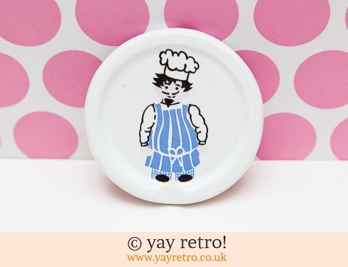74: Kitsch Chef/Cook Milk Saver / Plaque (£8.00)