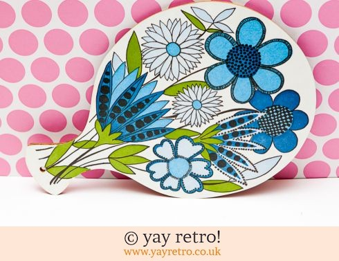 55: Flower Power Chopping Board (£24.50)