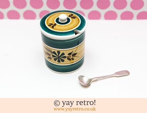 159: Toni Raymond Preserve Jar with Free Spoon (£8.75)