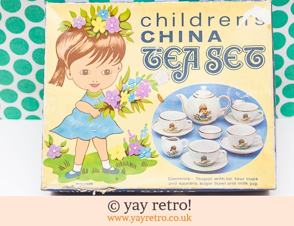 1960/70s Children's China Boxed Tea set (£12.75)