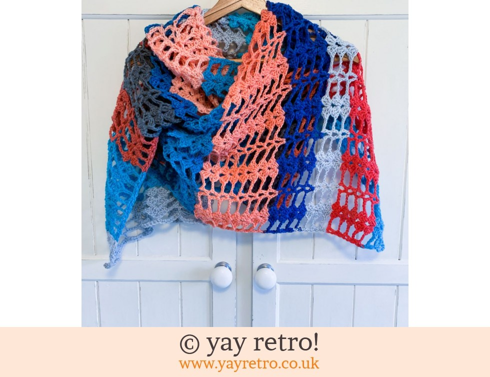 yay retro!: Bubblegum Crochet Shawl (£21.00)