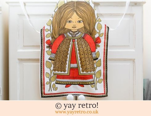 0: Scandi Girl Vintage Apron (£8.00)