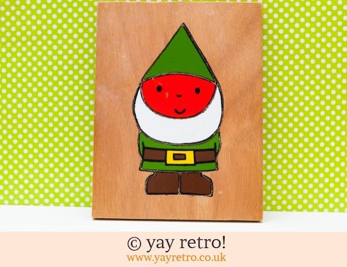 0: Rare Dick Bruna Gnome / Elf Wooden Jigsaw (£14.50)