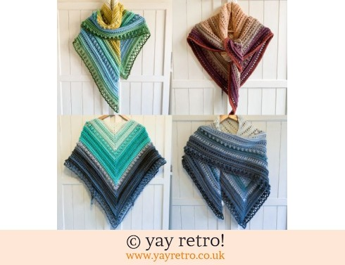 Pre-Order a Crochet Shawl from yay retro! (£32.50)