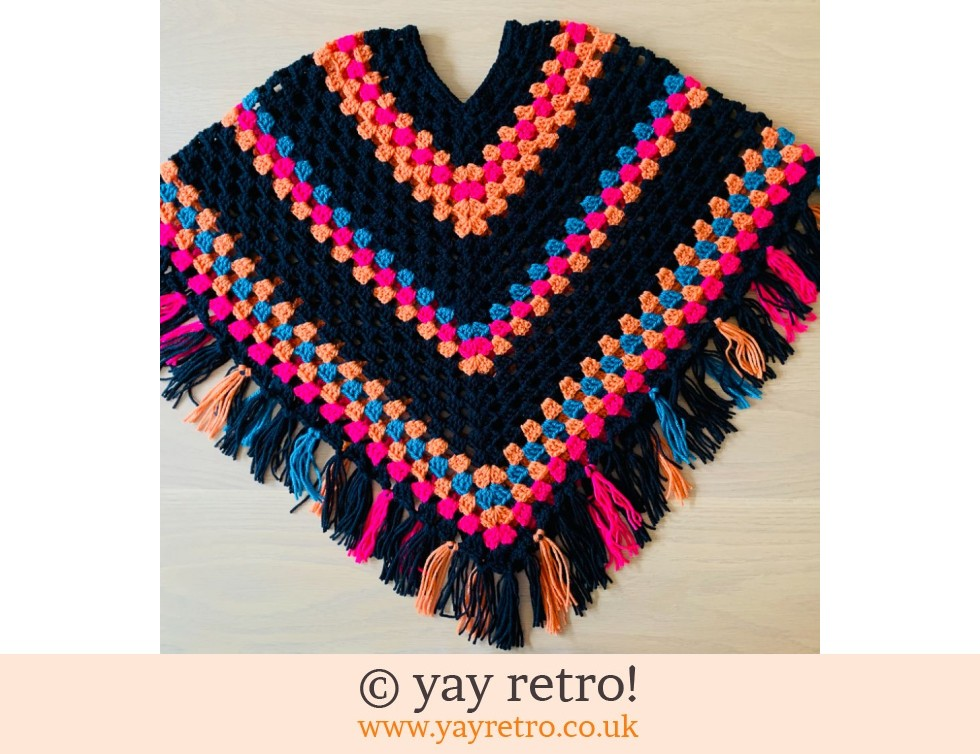 Pre-ordered Special Order Adult Boho Poncho WITH TASSELS (£47.50)