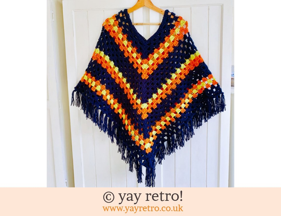 yay retro!: Special Order Adult Poncho (£42.50)