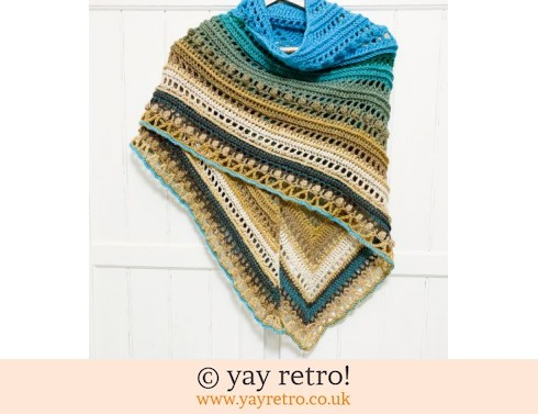 152: 'Clifftops 2' Crochet Shawl from yay retro! (£32.50)