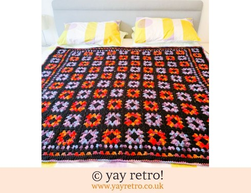 Double Bed Granny Square Blanket - NEW handmade by yay retro (£160.00)