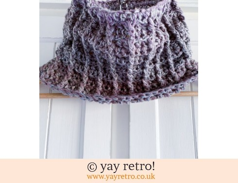 152: Unisex Crochet Cowl - All day wear (£10.00)