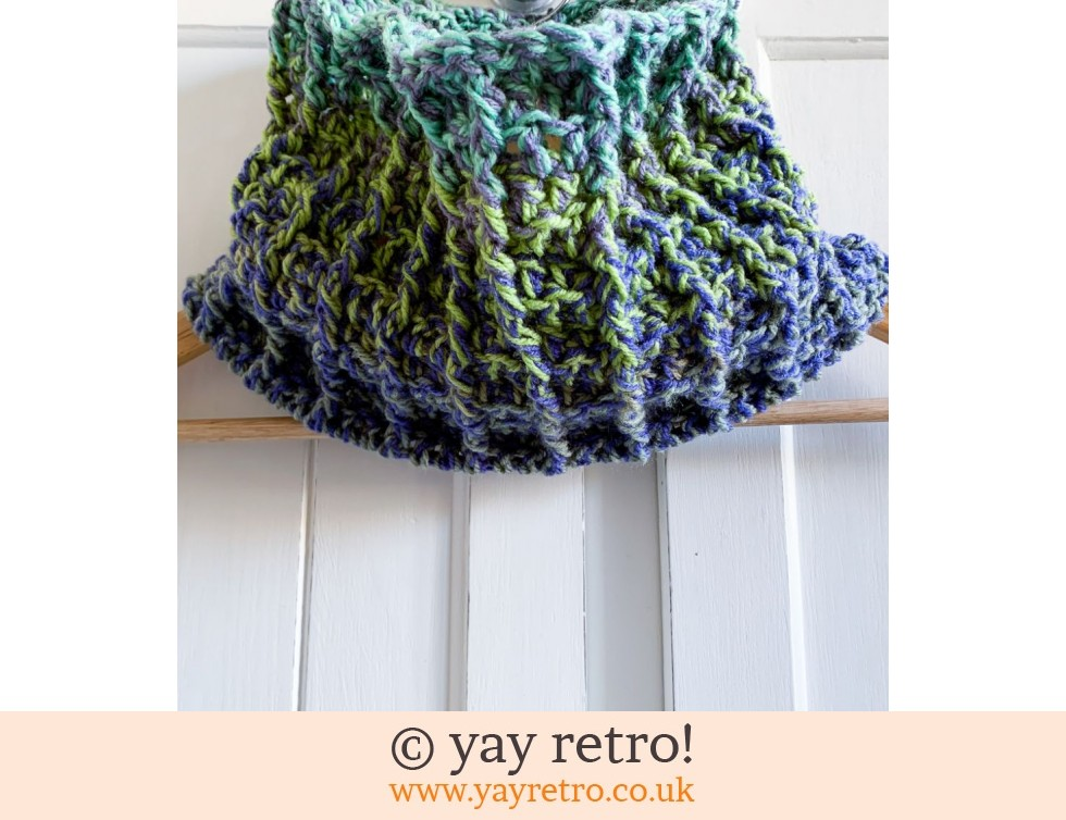yay retro!: Unisex Crochet Cowl - All day wear (£12.50)