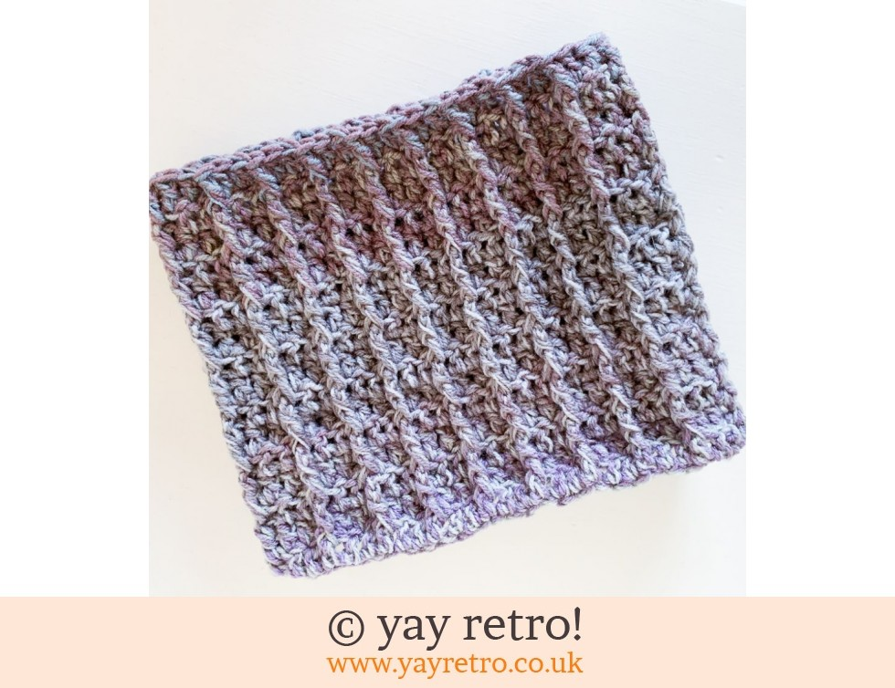 Unisex Crochet Cowl - All day wear (£12.50)