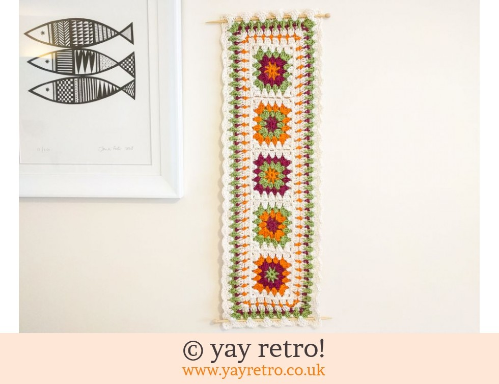 Crochet Table Runner / Wall Hanging SALE (£12.00)