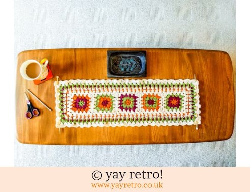 152: Crochet Table Runner / Wall Hanging (£17.50)
