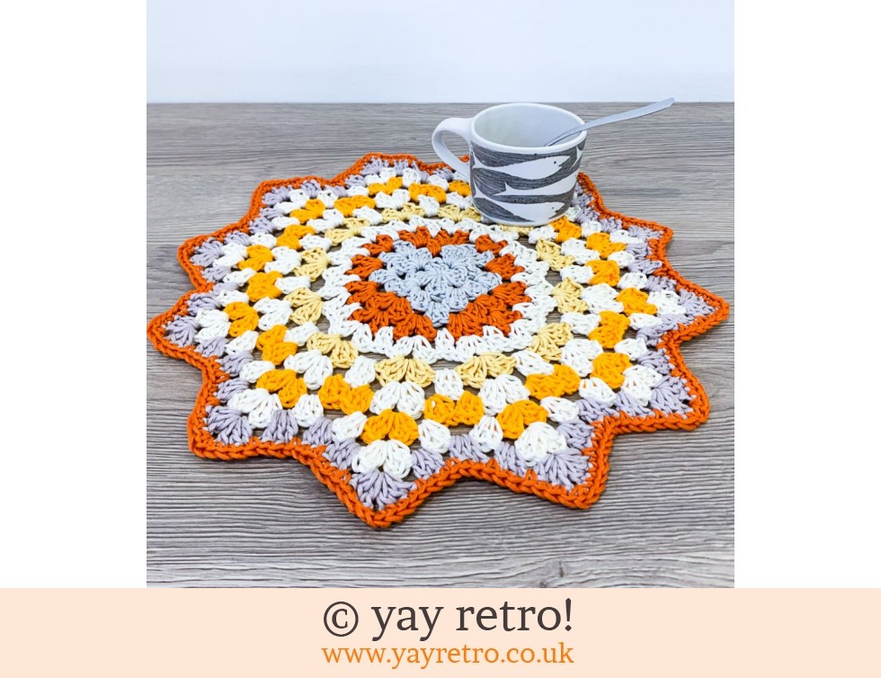 Crochet Love Heart Mandala - Send a Hug in the Post! (£13.00)