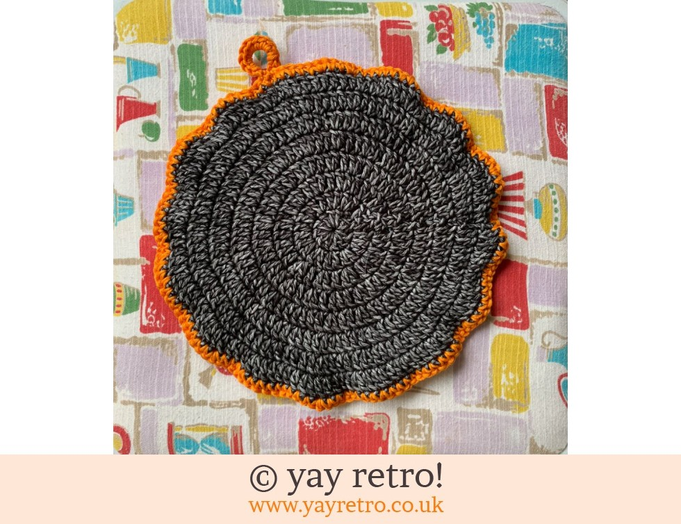 70s Inspired Crochet Mandala Pot Stand / Doily / Artwork (£12.95)