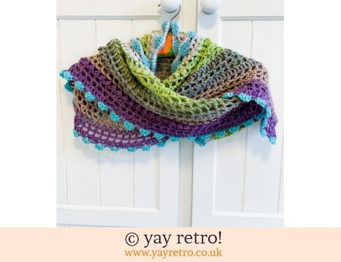 Pre-order 2 OFF Petits Filous Crochet Stole/Shawl for Maria (£45.00)