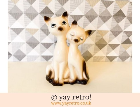 Pair of Midcentury Cats (£12.95)