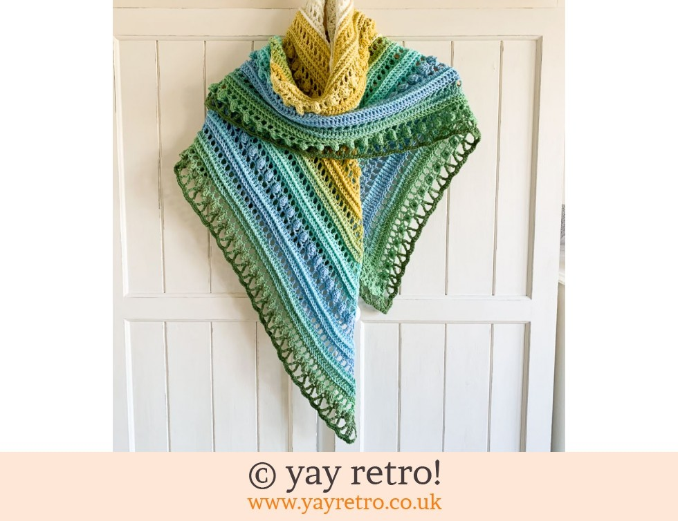 yay retro!: 'Hello Spring' Crochet Shawl (£32.50)