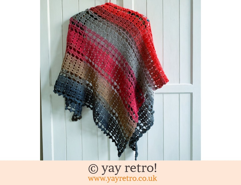 'Kiss Me' Crochet Shawl (£32.50)