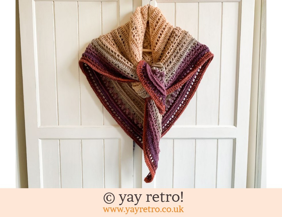 yay retro!: Crochet Secret Paths Shawl (£32.50)