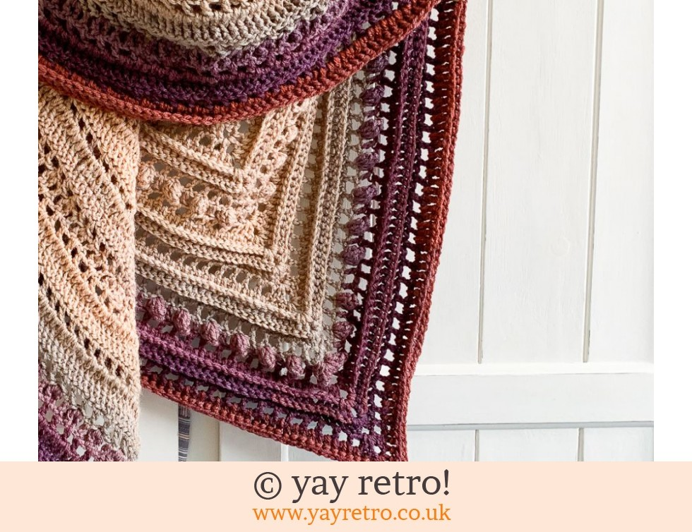 Crochet Secret Paths Shawl (£32.50)