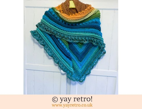 Seaside Sunset Crochet Shawl (£32.50)