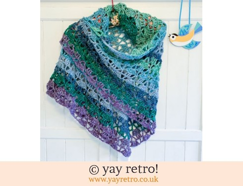 152: 'Breeze' Crochet Shawl (£34.00)
