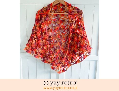 152: Hot Hot Hot! Crochet Shawl (£30.00)