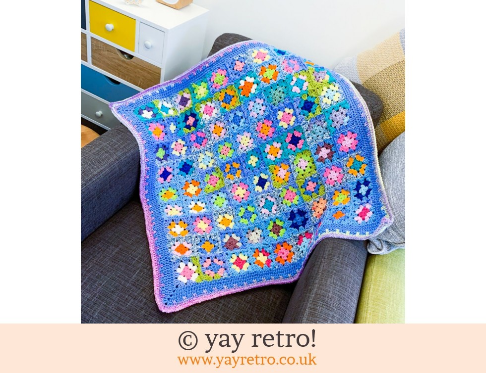 yay retro!: Squishtastic Crochet Throw (£33.50)