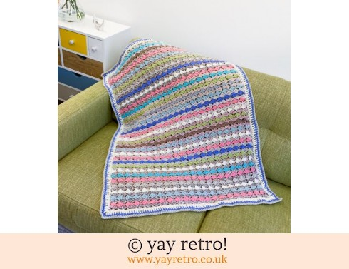 Tulip Stitch Blanket / Throw (£35.00)