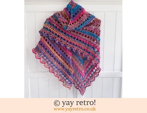 152: Pre-Ordered a 'V for Vintage' Crochet Shawl (£32.50)
