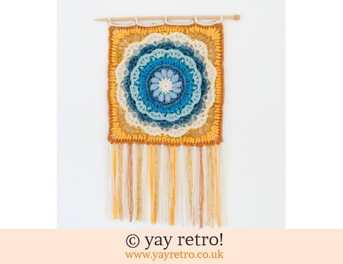 152: 'Wavelets' Crochet Wall Hanging (£20.00)