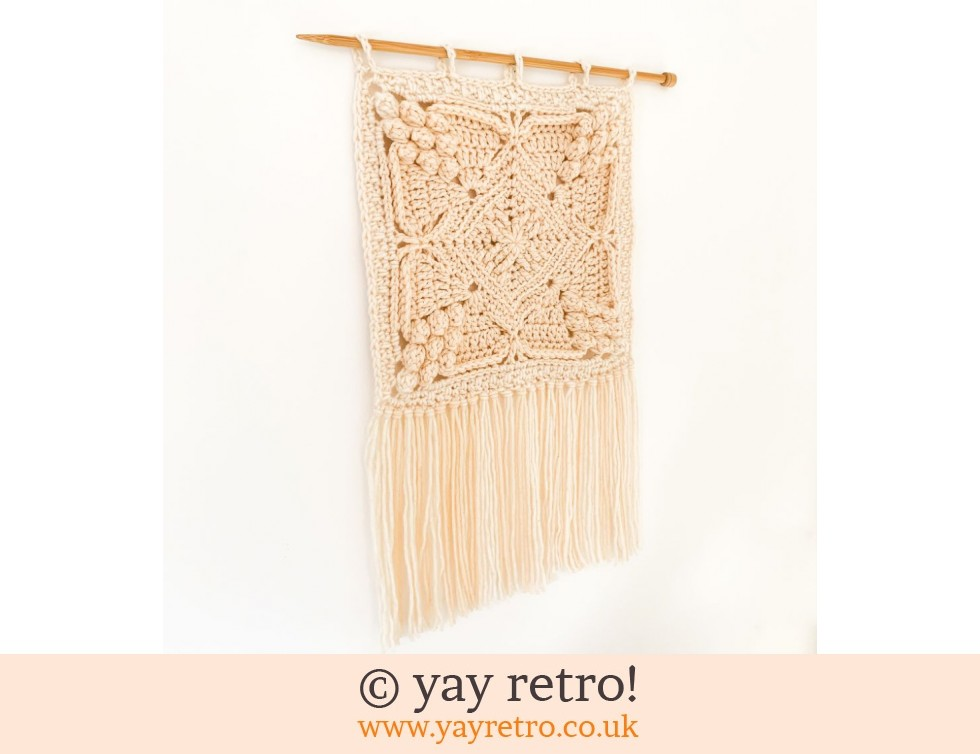 'Natural' Crochet Wall Hanging (£20.00)
