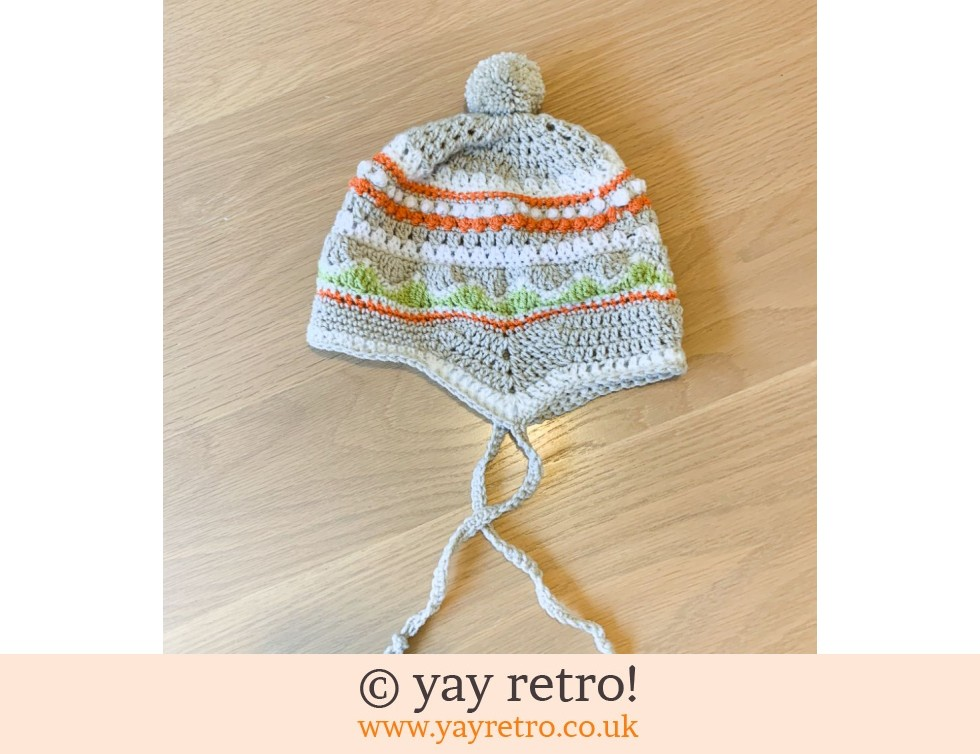 Crochet Hat with Ear Flaps (£19.50)