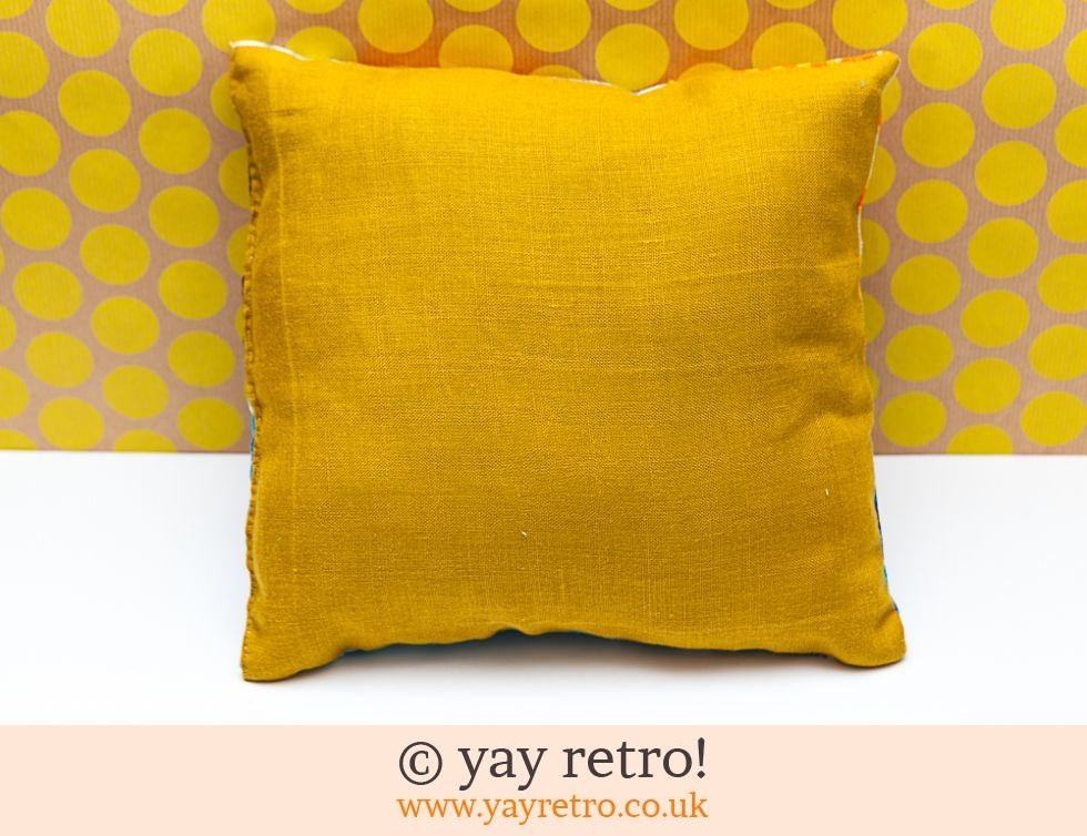 Vintage Patchwork Cushion 60/70s (£12.00)