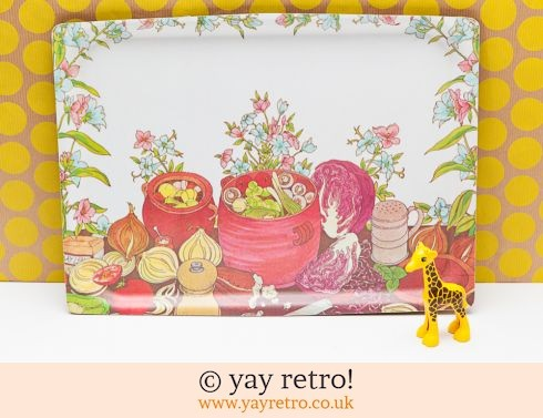 388: 1970s Melamine Tray - Lovely! (£11.00)