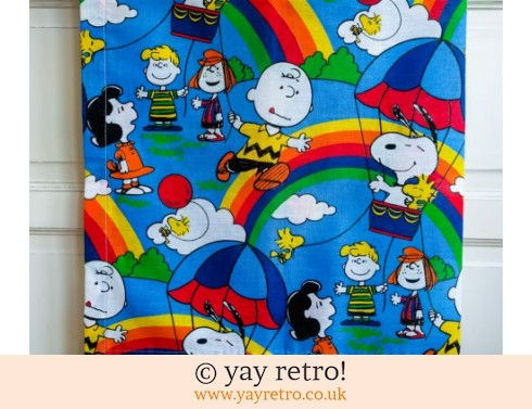 690: Snoopy Curtain / Fabric Panel (£6.00)