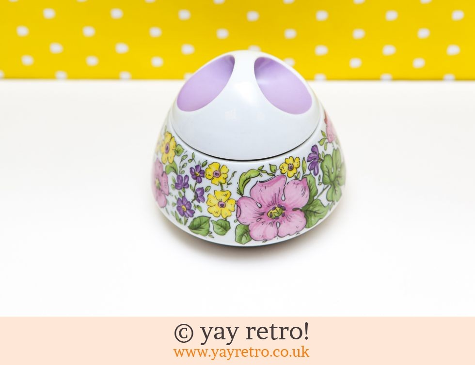 Bareuther: Flowery Lidded Sugar/Preserve Bowl (£4.25)