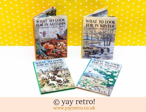 286: Vintage Ladybird 4 Seasons Books (£14.00)