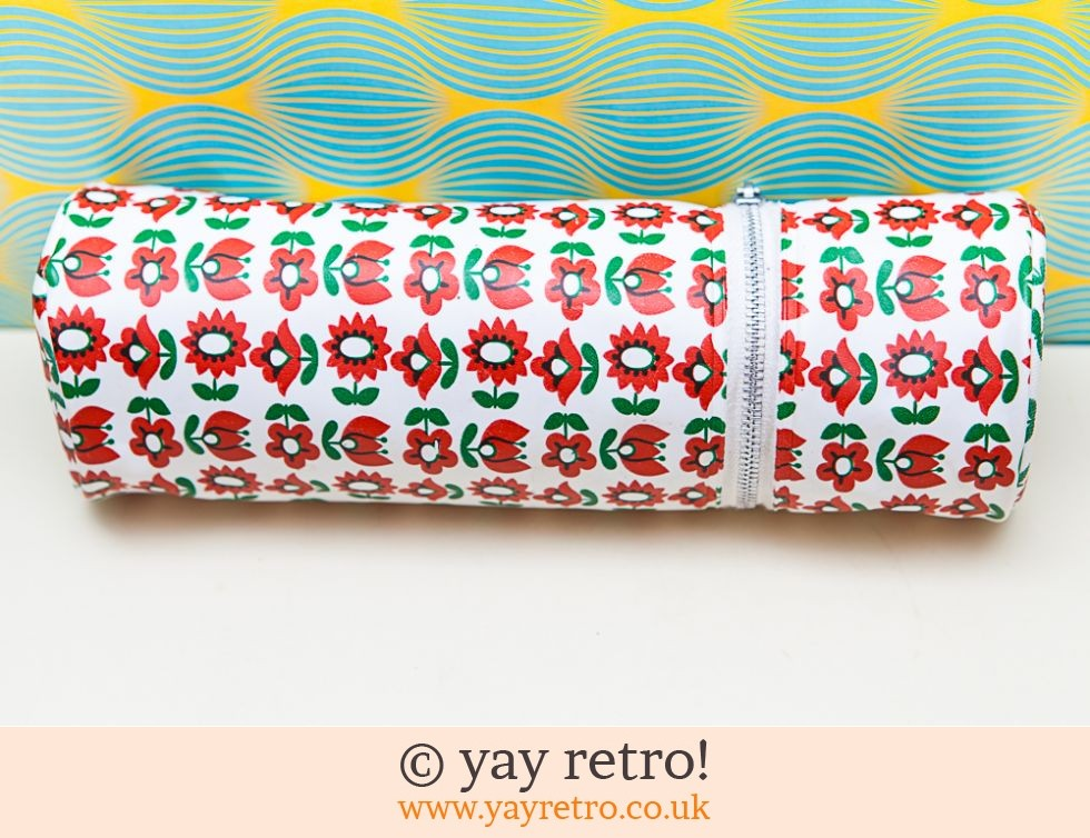 Vintage Flower Power Pencil Case (£10.00)