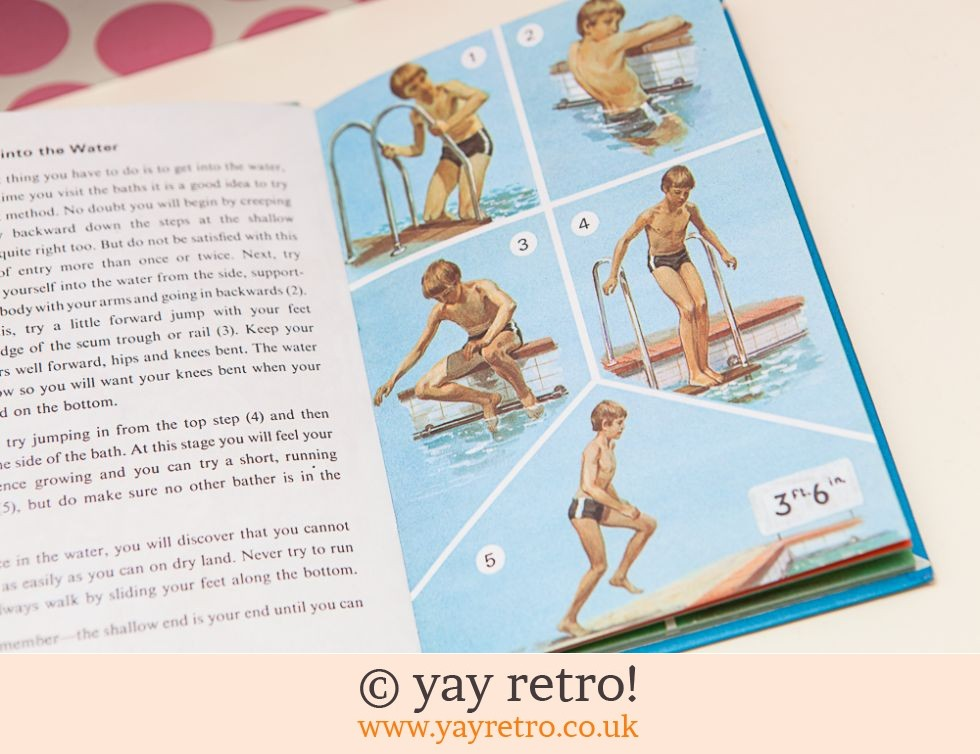 Ladybird How to Swim and Dive Book 1971 (£5.00)